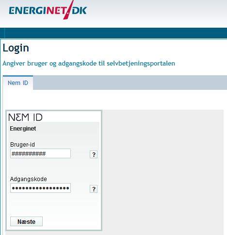 Nettoafregning med NemID