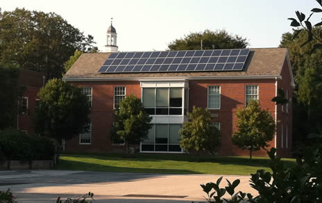 Solceller på kontorhus