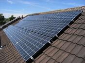 Solceller til produktion af el